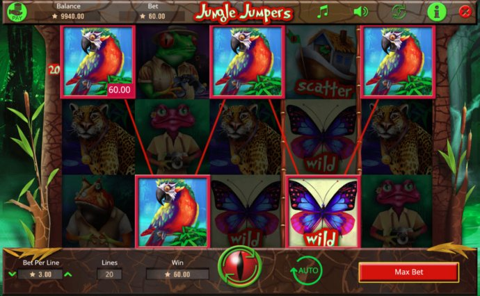 Jungle Jumpers by No Deposit Casino Guide