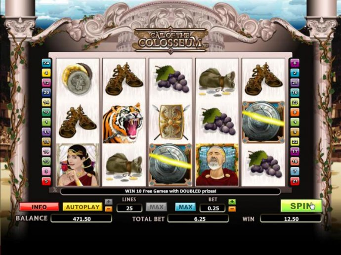 two scatter symbols trigger a payout 2x your total bet by No Deposit Casino Guide