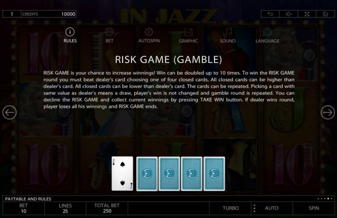 No Deposit Casino Guide image of In Jazz