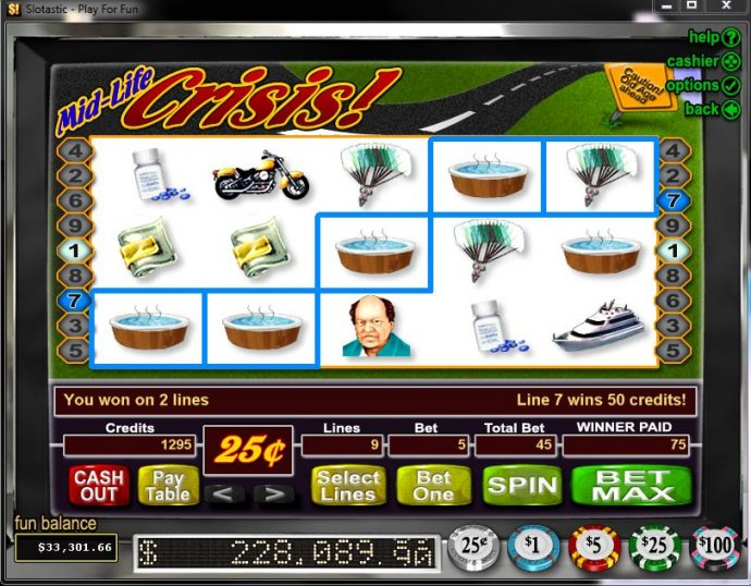 Mid-Life Crisis by No Deposit Casino Guide