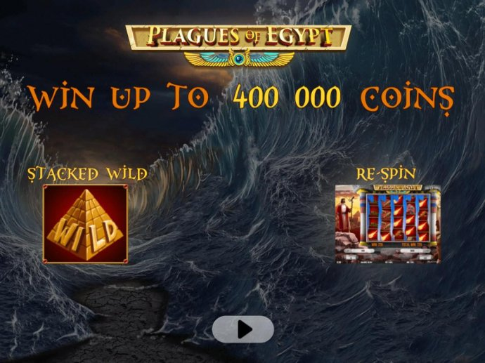 No Deposit Casino Guide image of Plagues of Egypt