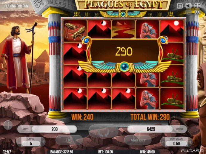 Plagues of Egypt by No Deposit Casino Guide