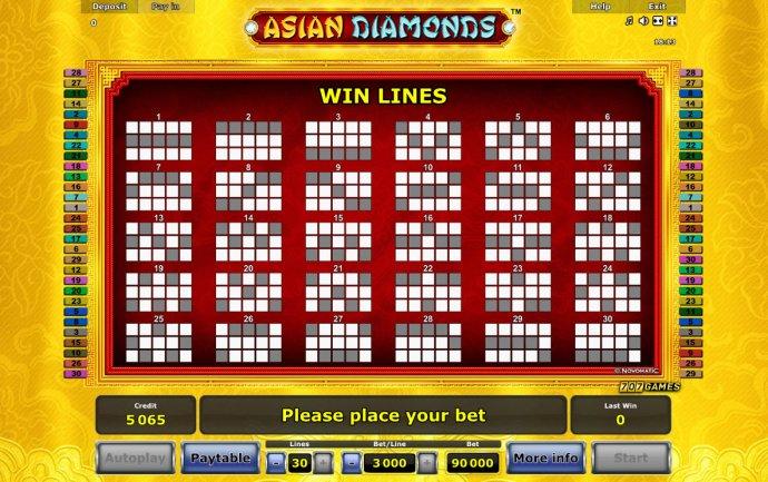 Asian Diamonds by No Deposit Casino Guide