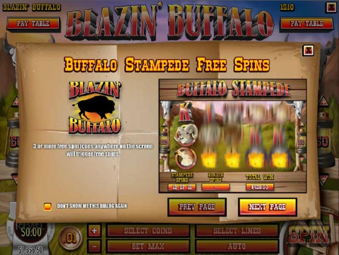 Images of Blazin' Buffalo