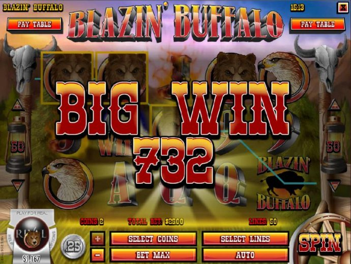 A four of a kind leads to a 732 coin big payout - No Deposit Casino Guide