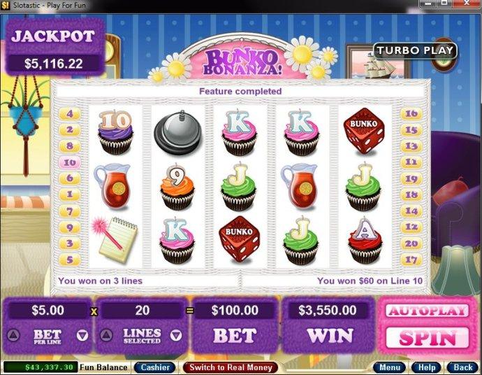 No Deposit Casino Guide image of Bunko Bonanza