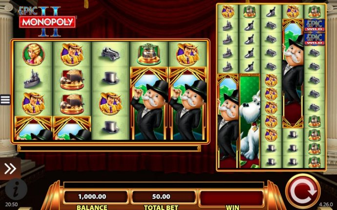 Main game board featuring five reels and 100 paylines with a $5,000 max payout by No Deposit Casino Guide