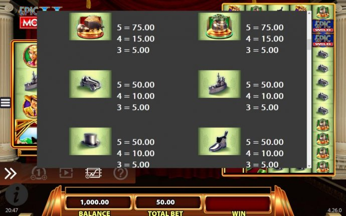 Epic Monopoly II by No Deposit Casino Guide