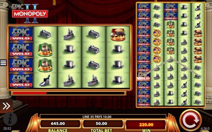 Epic Monopoly II screenshot
