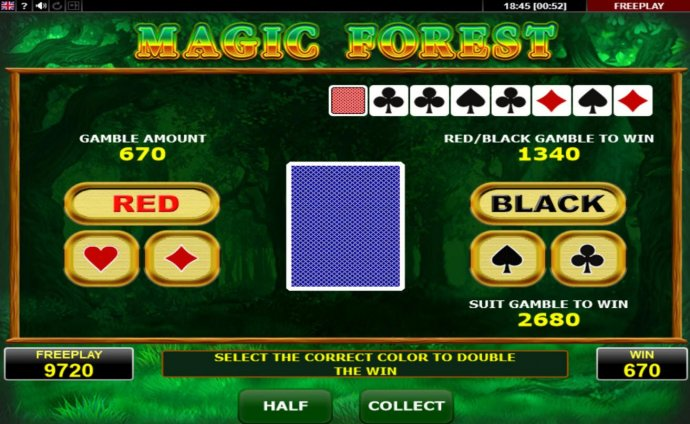 No Deposit Casino Guide image of Magic Forest