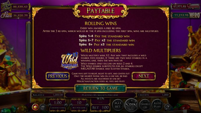 No Deposit Casino Guide image of Reels of Wealth