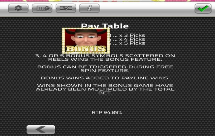 No Deposit Casino Guide image of Vegas III