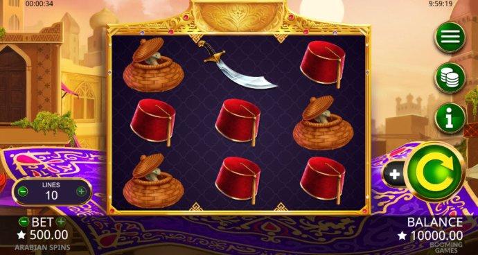Arabian Spins by No Deposit Casino Guide