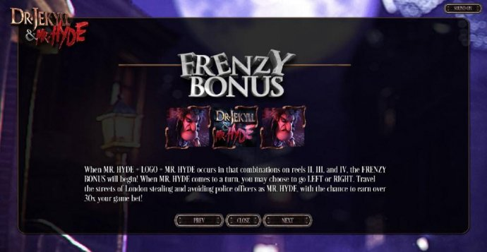 No Deposit Casino Guide - Frenzy Bonus Feature Rules