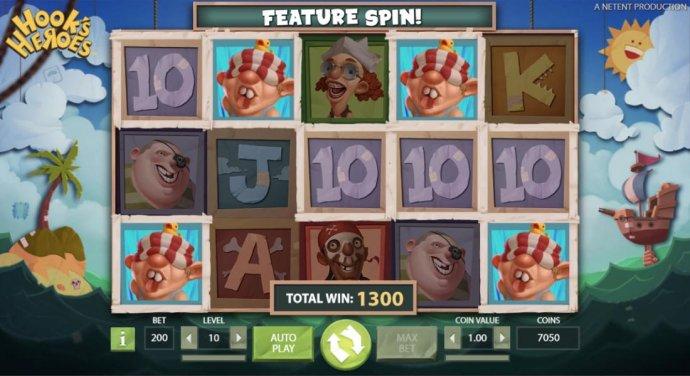 No Deposit Casino Guide image of Hook's Heroes