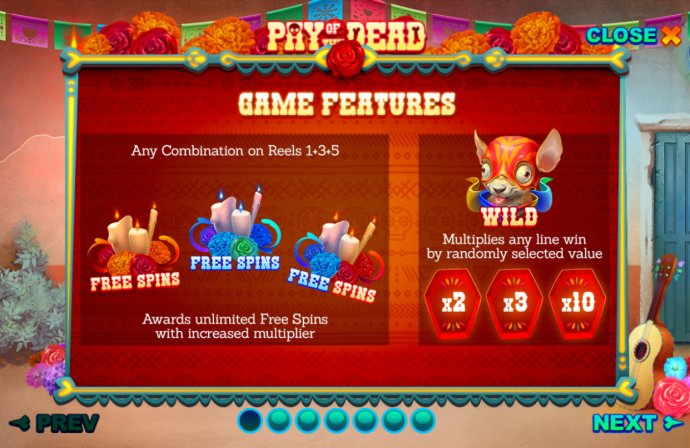 Pay of the Dead by No Deposit Casino Guide