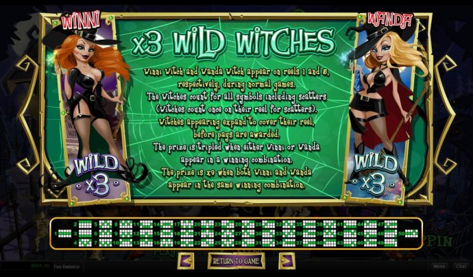 No Deposit Casino Guide - Wild Witches Rules