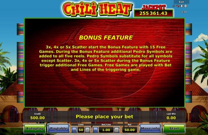 Bonus Feature Rules by No Deposit Casino Guide