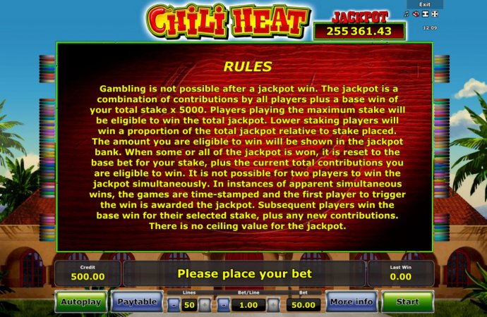 Chili Heat screenshot