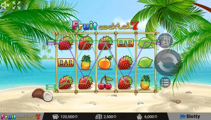 No Deposit Casino Guide image of Fruit Cocktail7