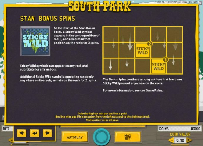 South Park by No Deposit Casino Guide