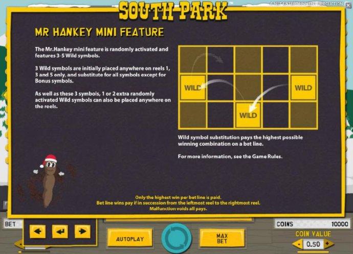 mr hankey mini feature game rules - No Deposit Casino Guide