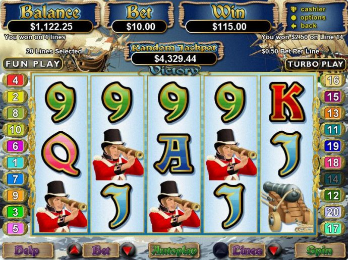 No Deposit Casino Guide image of Victory