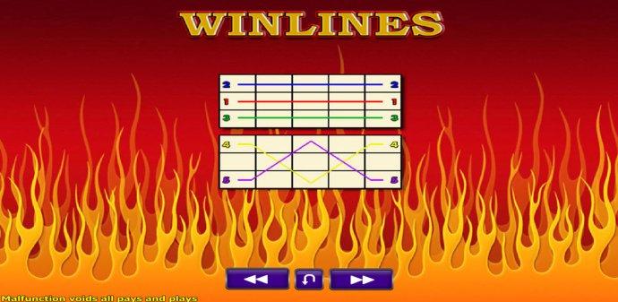 Paylines 1-5 - No Deposit Casino Guide