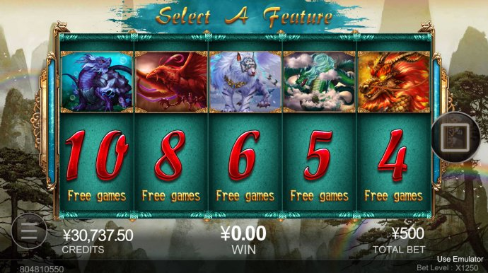 No Deposit Casino Guide - Pick your free spins feature