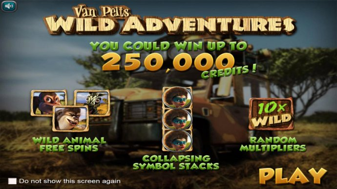 No Deposit Casino Guide image of Van Pelts Wild Adventures