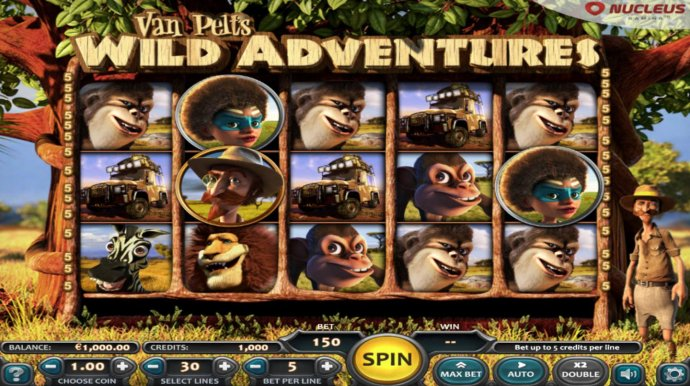 Van Pelts Wild Adventures by No Deposit Casino Guide