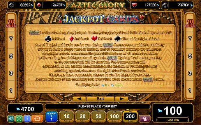 Aztec Glory screenshot