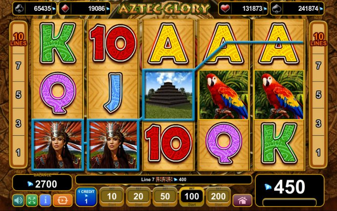 Aztec Glory by No Deposit Casino Guide