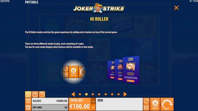 Hi-Roller - No Deposit Casino Guide