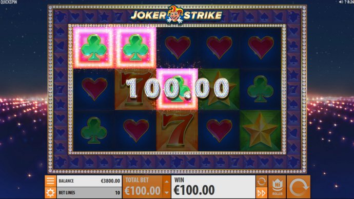 Joker Strike by No Deposit Casino Guide