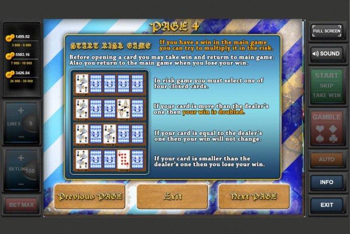 No Deposit Casino Guide - Risk Game Rules
