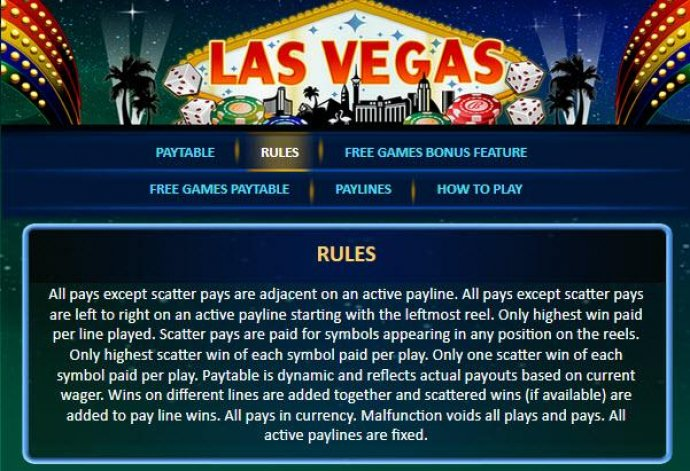 Game Rules by No Deposit Casino Guide