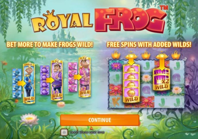 No Deposit Casino Guide image of Royal Frog