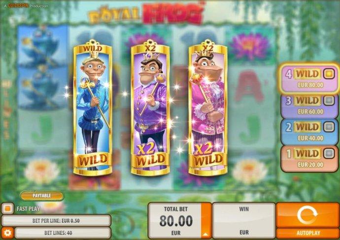 Royal Frog screenshot