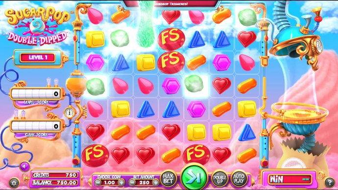 No Deposit Casino Guide image of Sugar Pop 2 Double Dipped