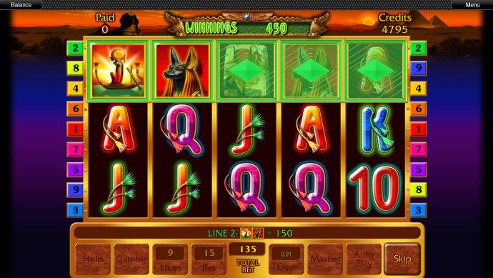 No Deposit Casino Guide image of Anubis' Secret