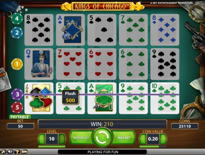 No Deposit Casino Guide image of Kings of Chicago