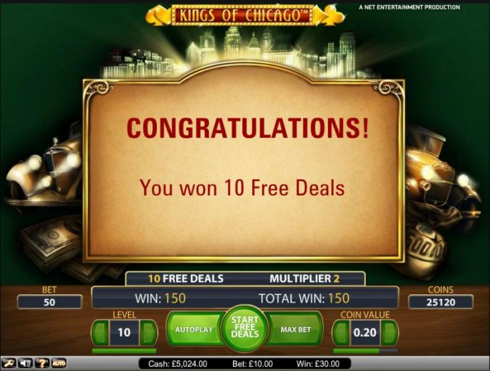 No Deposit Casino Guide - 10 free games awarded
