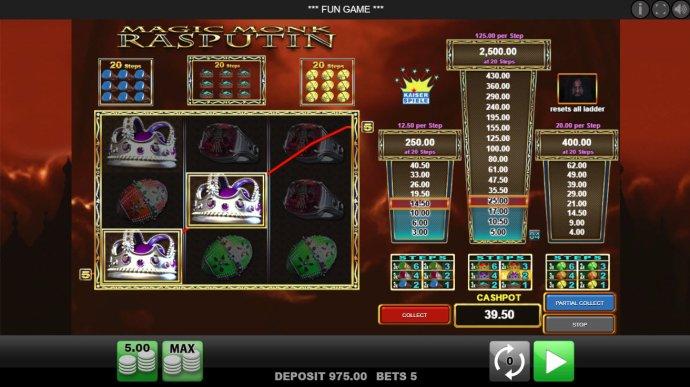 Magic Monk Rasputin by No Deposit Casino Guide