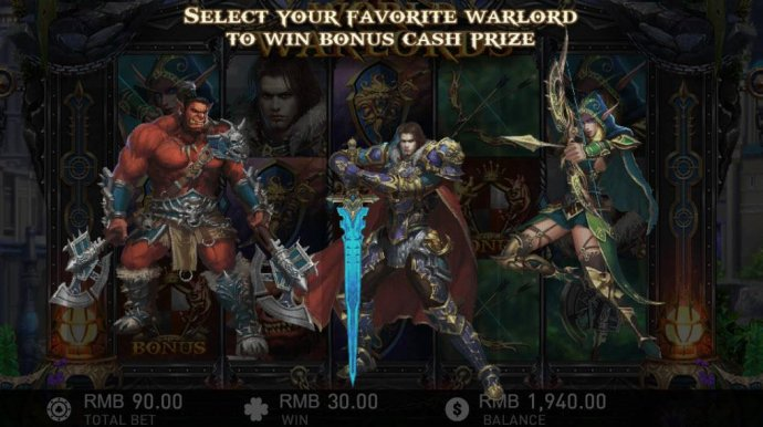World of Warlords by No Deposit Casino Guide