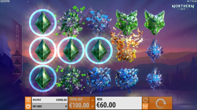 No Deposit Casino Guide image of Northern Sky