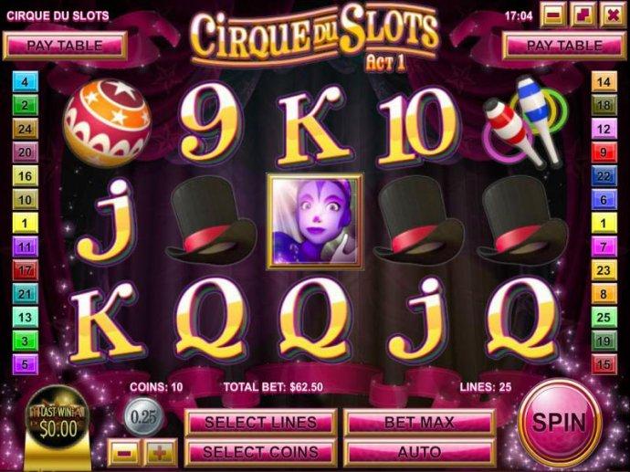 Cirque du Slots by No Deposit Casino Guide