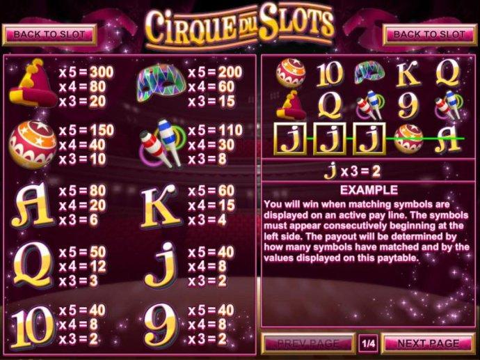 Images of Cirque du Slots