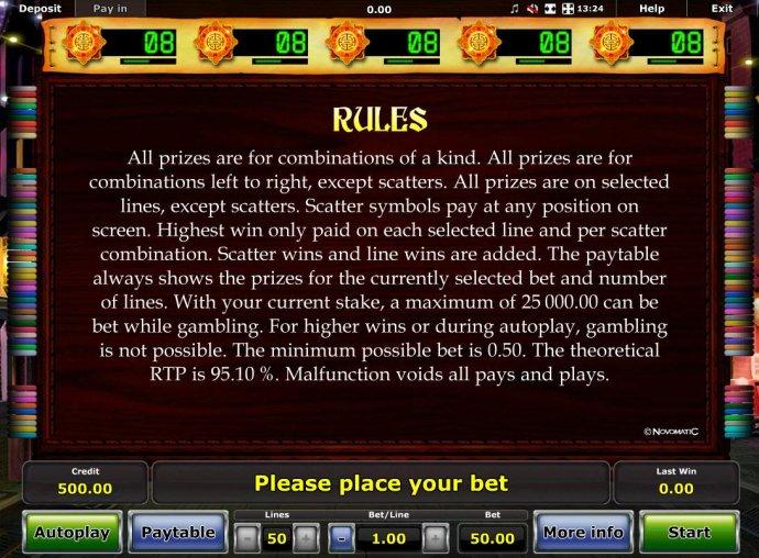 No Deposit Casino Guide image of Dancing Dragon