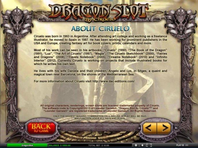 About Ciruelo - No Deposit Casino Guide